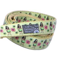 DOG LEAD - HULA GIRLS LIME